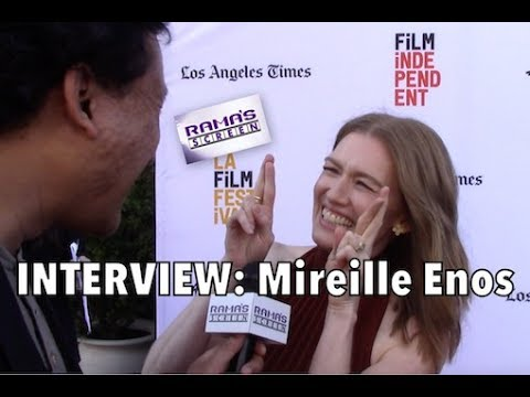 My LAFF2017 Red Carpet  with Mireille Enos  'NEVER HERE'