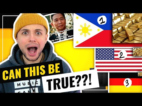 Marcos GOLD | Is the Philippines the RICHEST country in the WORLD???!!! | HONEST REACTION