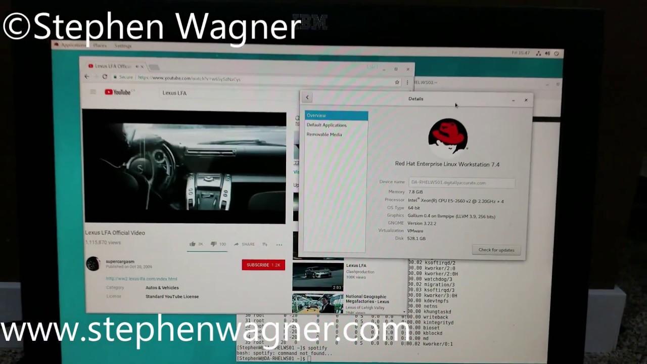 Red Hat Enterprise Linux 7 4 on VMware Horizon View VDI via 10ZiG