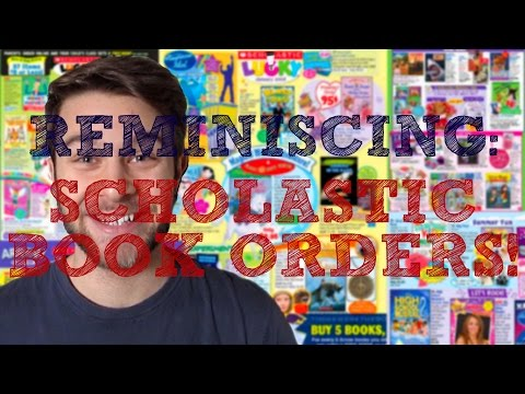 REMINISCING | Scholastic Book Orders!