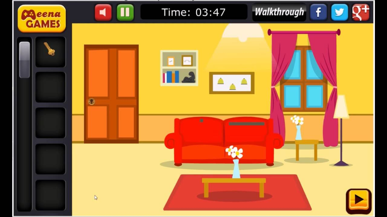 Foyer Room Escape Walkthrough : Living room escape game walkthrough youtube
