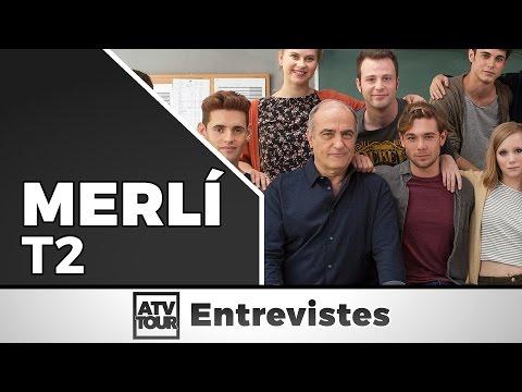 """Els actors de """"Merlí"""" juguen a #MerlíDades"""