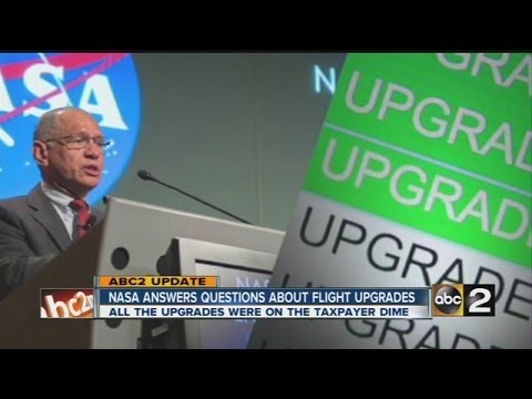 INVESTIGATION: NASA answers questions about first class flight upgrades