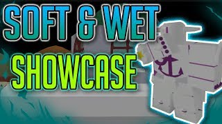 PROJECT JOJO SOFT AND WET STAND SHOWCASE | Project JoJo | ROBLOX | Is it Strong!?