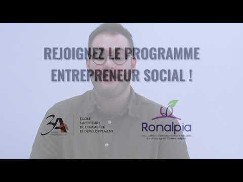 ESCD 3A - Découvrez le Programme Entrepreneuriat Social