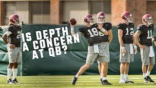 Does Alabama have a QB depth problem?