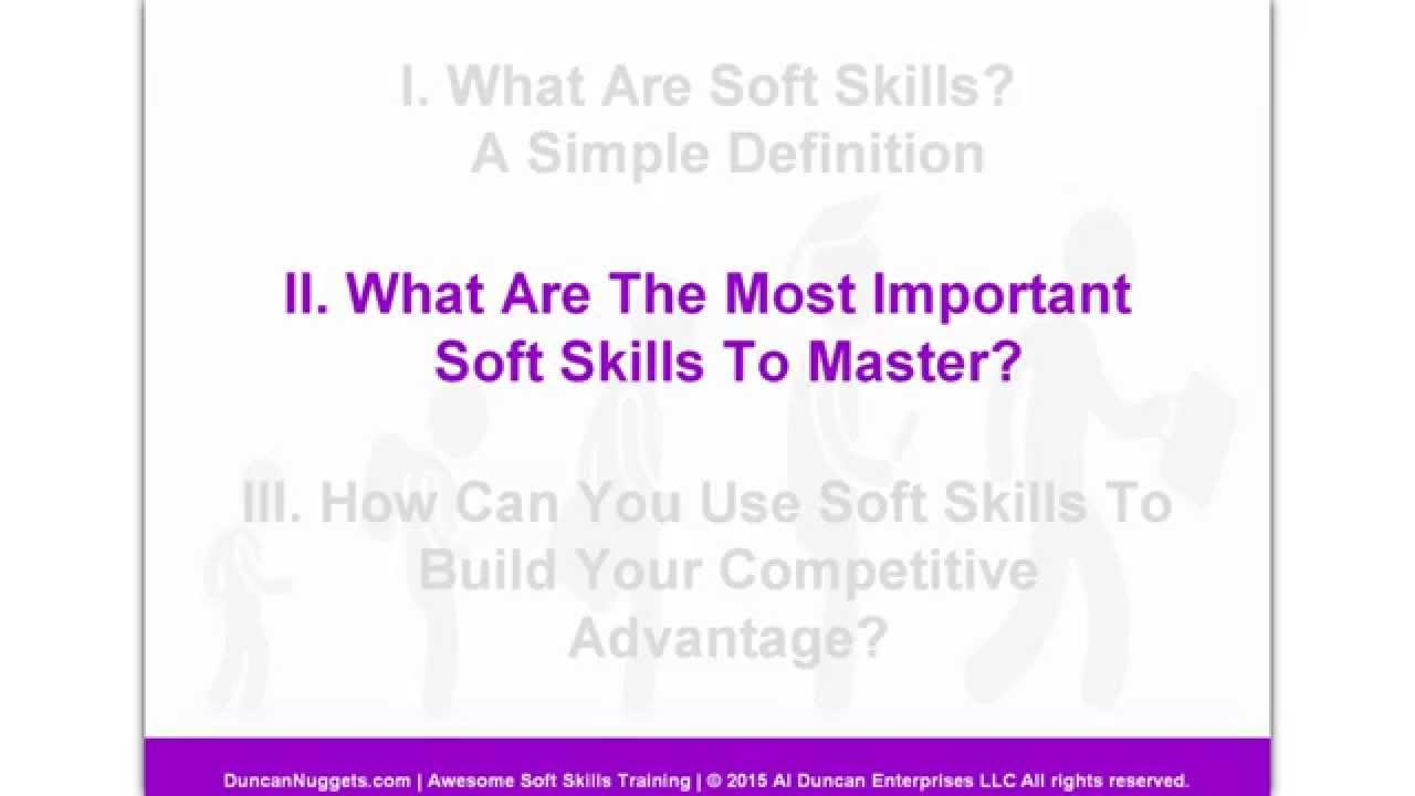 what are the most important soft skills to master what are the most important soft skills to master