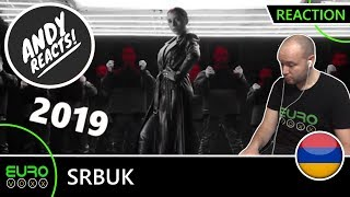 ARMENIA EUROVISION 2019 REACTION: Srbuk ' 'Walking Out' | ANDY REACTS!