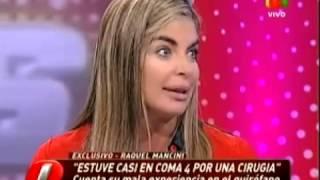 Exitoina.com - Raquel Mancini en Intrusos