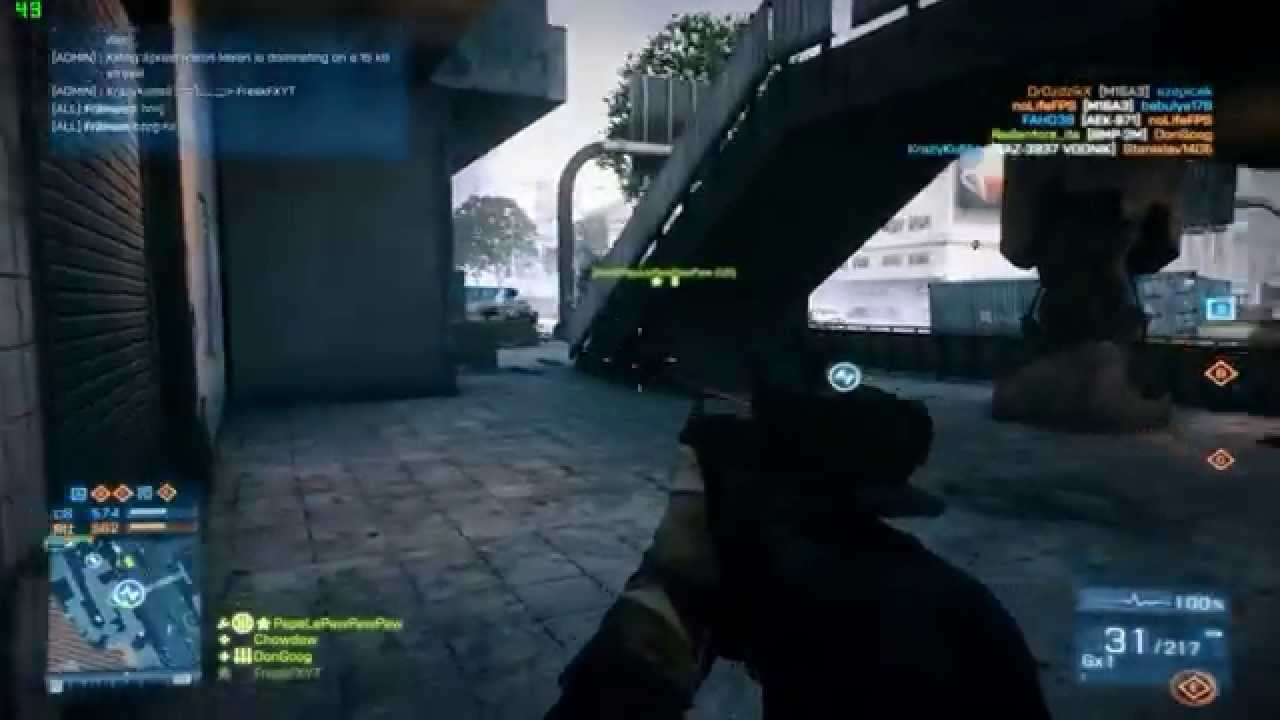 Battlefield 3 ULTRA ASUS GTX 750 TI OC with NVIDIA ShadowPlay [FPS Counter]