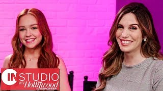 'Kim Possible': Christy Carlson Romano Passes the Torch to Sadie Stanley | In Studio