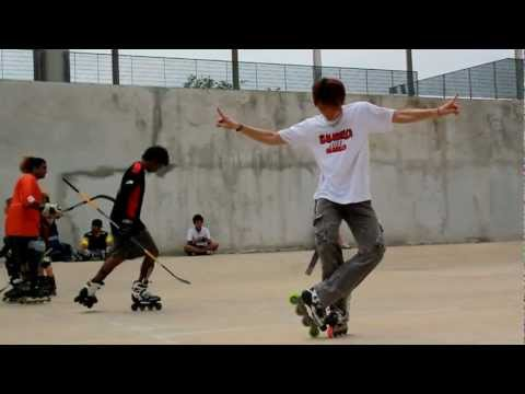 Y-Avenue Inline Freestyle Skating (April 2012)