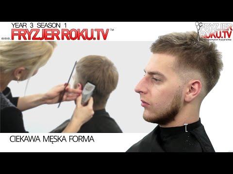 Ciekawa Męska Forma Fryzura Hipster At Fryzjerrokutv Youtube