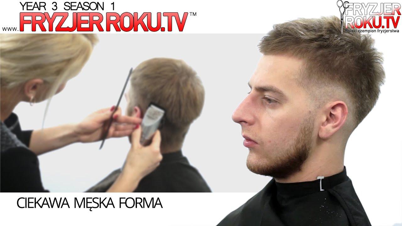 Ciekawa Męska Forma Fryzura Hipster At Fryzjerrokutv