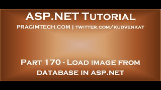 Load image from database in asp net
