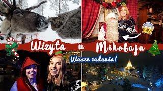 Odwiedzam PRAWDZIWEGO Świętego Mikołaja w Laponii!  - Smakuj Życie #8 | Agnieszka Grzelak Vlog