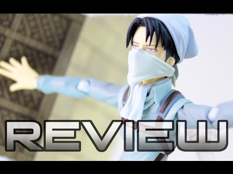 Figma Levi Cleaning Version Anime Figure Review – Attack on Titan – 進撃の巨人 リヴァイ