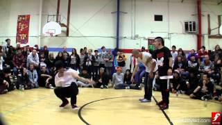 Kool Aid & Chacho vs. Fresh Prince & Gage | Bboy Semi | Deuces Wild | www.bboyfed.com