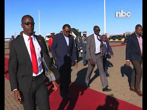 President Geingob back home from a week-long visit to Indonesia and China-NBC