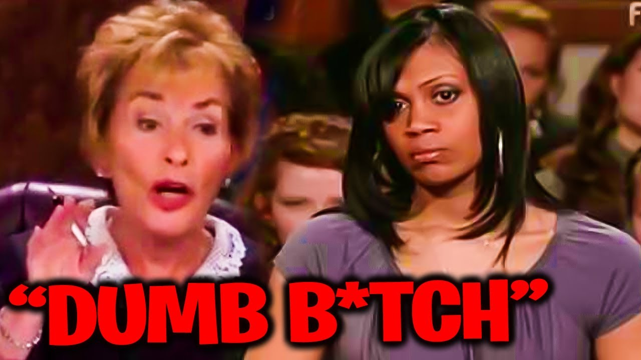 Download AWFULLY CRUEL Moments On Judge Judy!