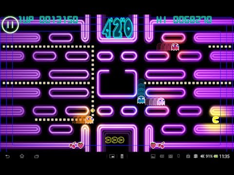 Download Pac Man Android Game 3rd Video On Your Mobile Phone 2013 HD