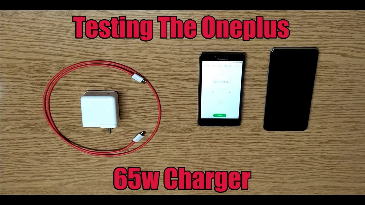 Charging My Oneplus 8T with The 65w Charger (From 0 To 100)