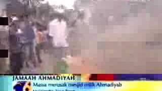 Ahmadiyya Mosque Demolished by Mullahs in Indonesia