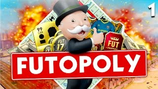 FUTOPOLY #1 - FIFA 17 Monopoly PS4 - FIFA 17 Fifa Ultimate Team Monopoly Game Jam HD