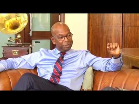 Safaricom CEO Bob Collymore talks about the state of Kenyan telecoms