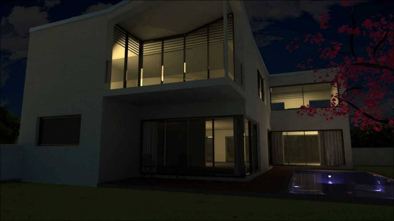 Day and night exterior scene using Sketchup Vray Photoshop and Windows Movie maker  YouTube