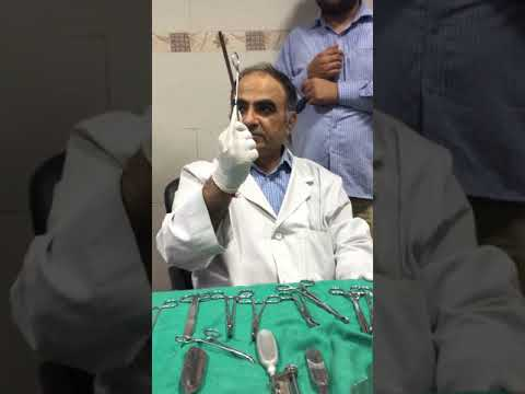 chintamani sir surgery instruments