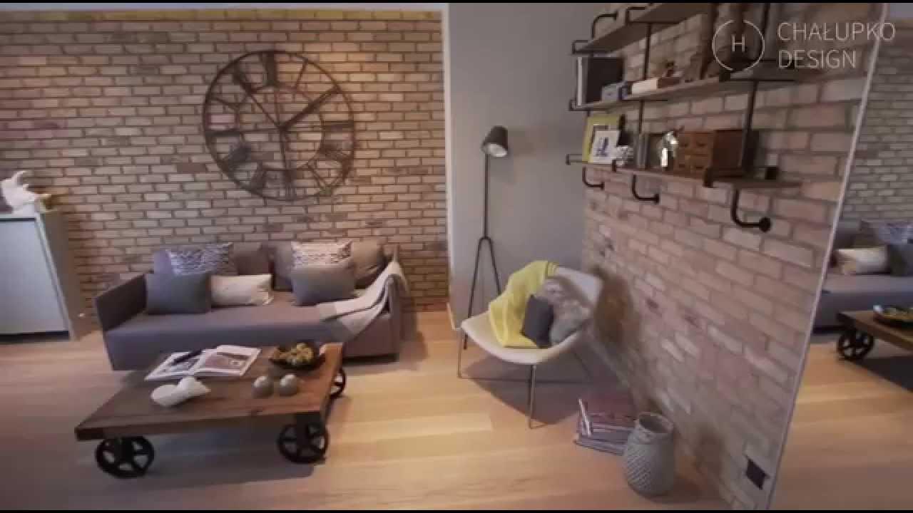 Appartamento industriale youtube for Appartamento design industriale