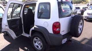 2004 Jeep Liberty Redding, Eureka, Red Bluff, Chico, Sacramento, CA 4W285851R