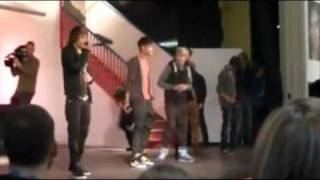 One Direction at Hall Cross School in Doncaster - Summer of 69
