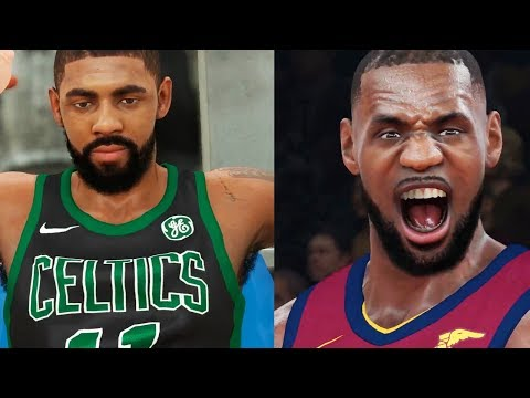 NBA 2K18 Gameplay - LeBron vs. Kyrie GRUDGE MATCH! Cleveland Cavaliers vs. Boston Celtics (PS4 PRO)