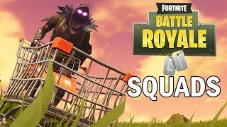 Squads with Subs - Fortnite Battle Royale Gameplay - Xbox One X - Season 4