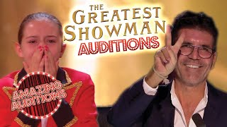 The Greatest Showman Soundtrack - TOP 5 Best Got Talent Auditions | Amazing Auditions