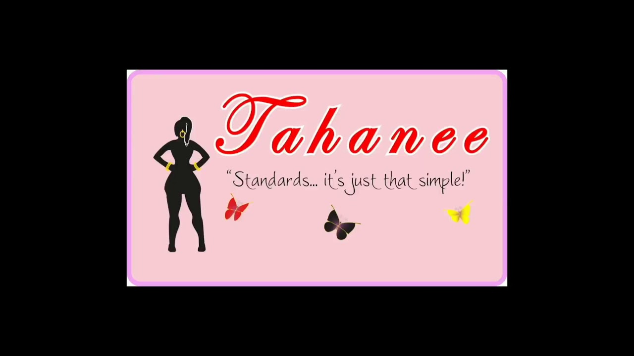 INTRODUCING TAHANEE. THE AUTHOR, RELATIONSHIP COLUMNIST AND HOST.