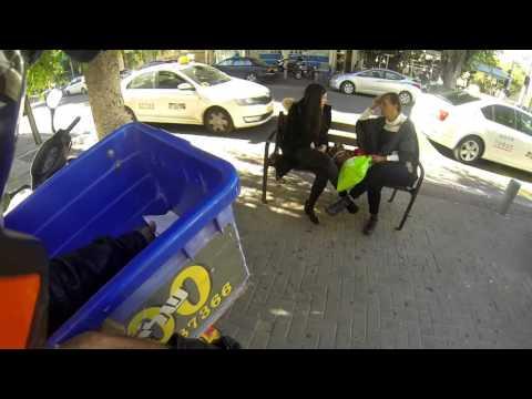 Trip motorcycle HD VOL 2 \ A trip to Tel Aviv \ Kimco 125 CC