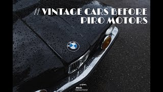 VINTAGE CARS BEFORE chez PIRO MOTORS  📻