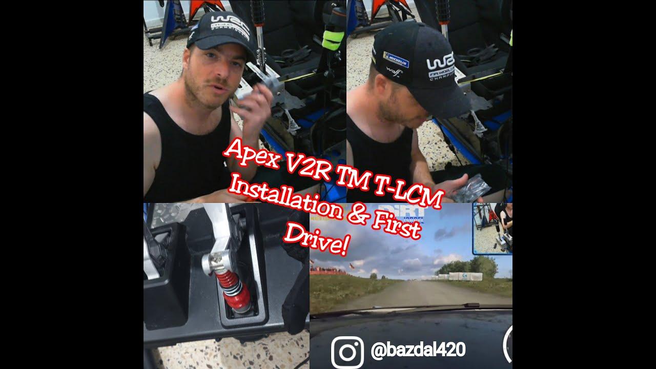Apex V2r Tm T-lcm Brake Pedal Mod