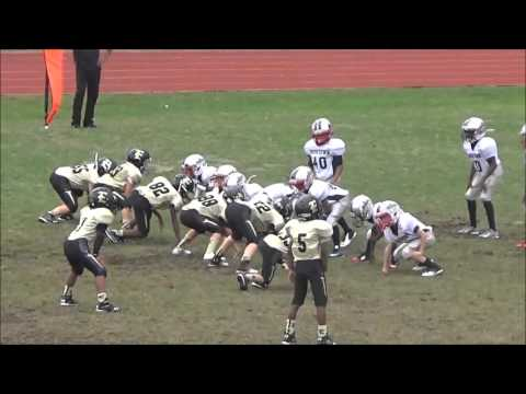 East Georgia Pop Warner Mighty Mites Championship Game Grovetown vs Evans 7 Nov 2015