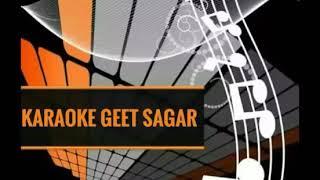 Maine Dil Diya Karaoke | Kishore Kumar , Lata Mangeshkar | Zameen Aasman