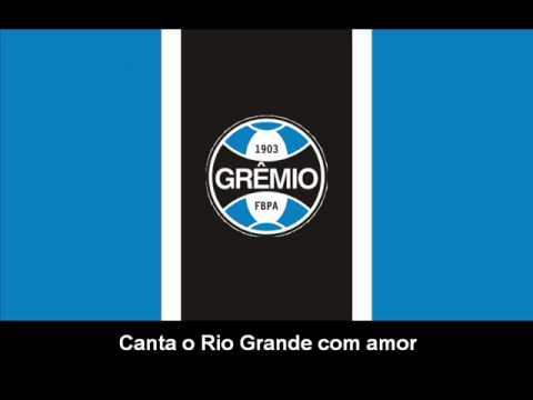 Hino do Grêmio (letra) - YouTube baf345fa70b63
