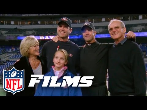 #10 John & Jim Harbaugh in the Har-Bowl Part 1 | Top 10 Thanksgiving Day Moments | NFL Films