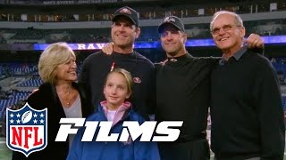 #10 John & Jim Harbaugh In The Har-bowl Part 1  Top 10 Thanksgiving Day Moments  Nfl Films