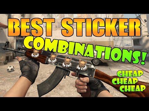 CS:GO - Best Cheap Sticker Combos #1