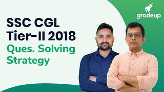SSC CGL Tier II Question Solving Strategy, LIVE Session on 10 July@6:30 PM