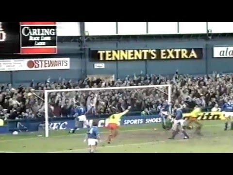 EVERTON FC V SHEFFIELD UNITED FC -1-2 - 23RD FEBRUARY 1991 -  GOODISON PARK