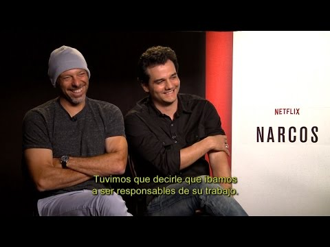 Entrevista Pedro Pascal y Wagner Moura  Narcos Netflix